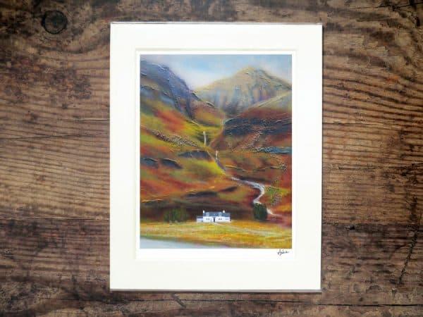 Glencoe Cottage print