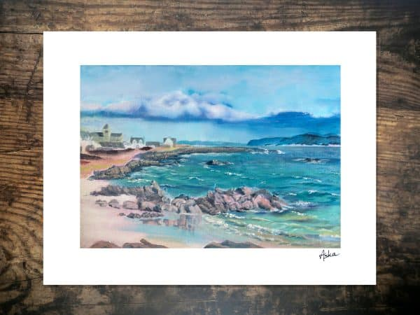 Iona Abbey art print