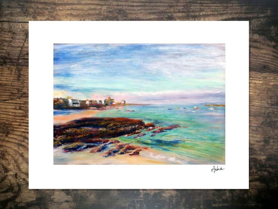 Iona Sunset print