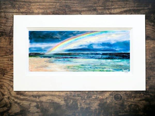 Iona rainbow print print