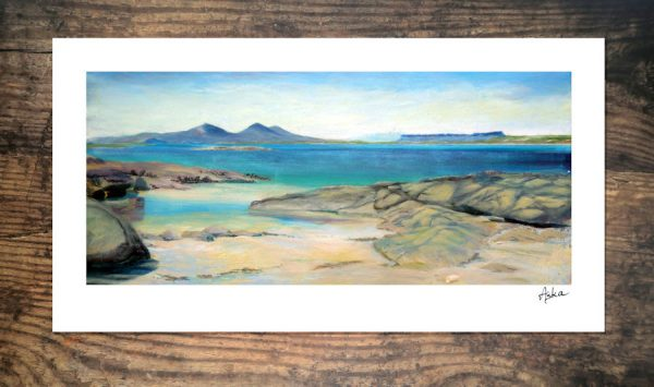Portuairk beach print