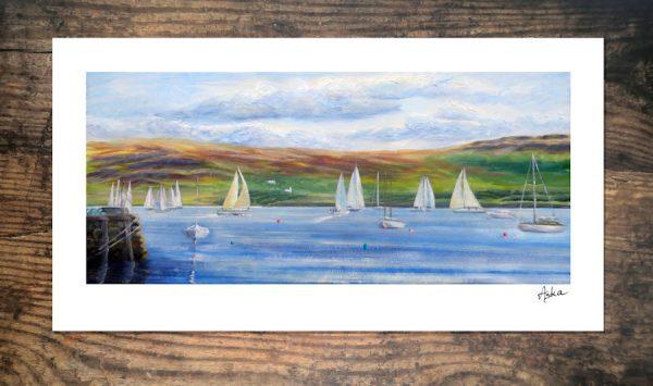 Tobermory sailing