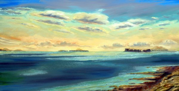 Treshnish Isles large canvas