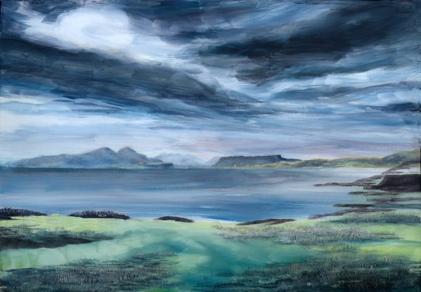 Western Isles large canvas