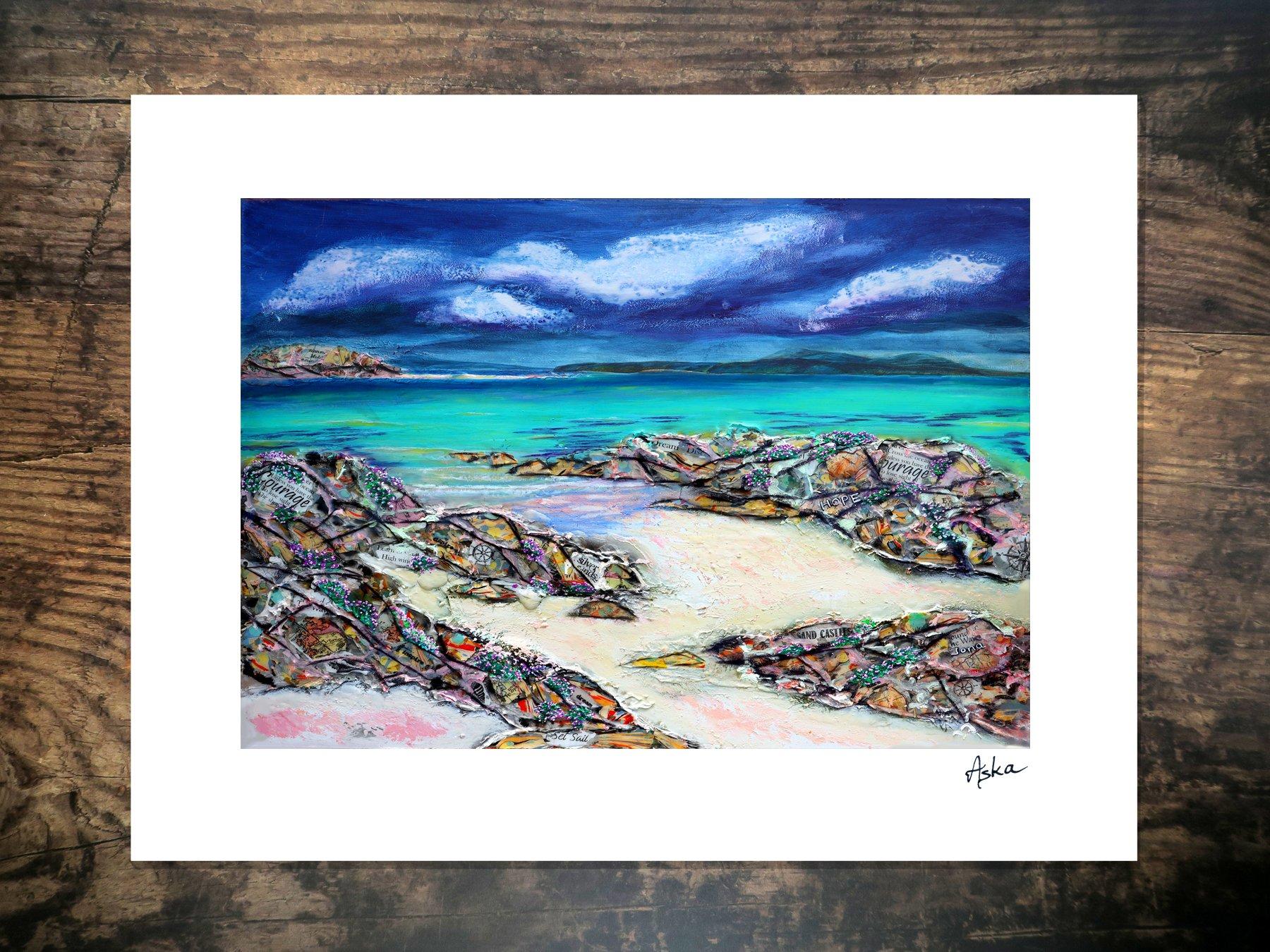 Iona rocks large print