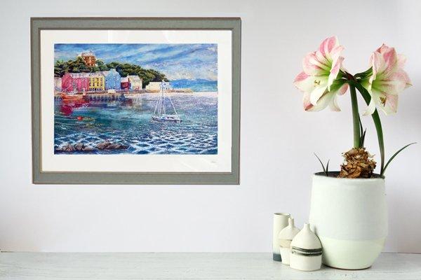Tobermory Yacht print