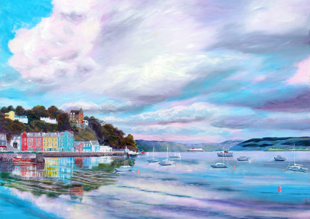 Tobermory painting