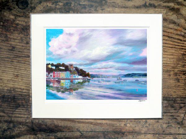 Tobermory reflections print