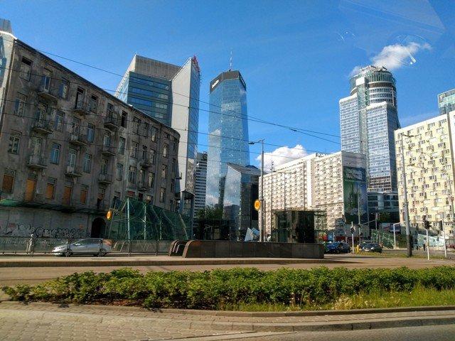Skyscrapers Warsaw
